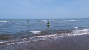 Bathymetry survey / Dayaz sahələrdə Batimetriya ölçmələri