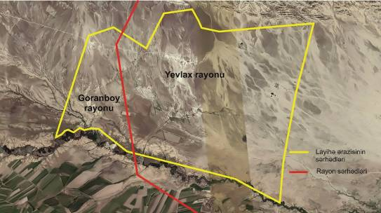 """""""IMPLEMENTATION OF TOPOGRAPHIC WORKS ON 3,200 HECTARE AREA OF YEVLAKH AND GORANBOY DISTRICTS"""""""