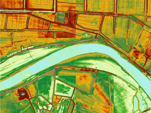 LIDAR data (Kura river, Azerbaijan Republic)